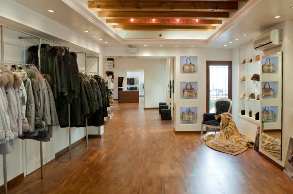 negozio pellicce mestre